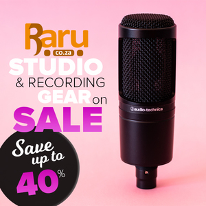 Studio Gear on Sale - Save up to 40%