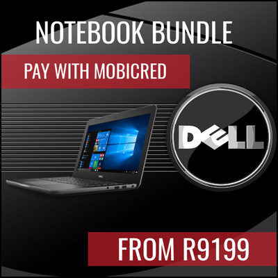Dell Notebook Bundles. Save up to R 2097
