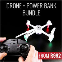 Helicute Drone and Romoss Power Bank Bundle