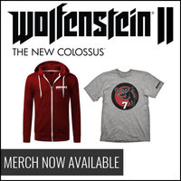 Wolfenstein II: The New Colossus T-shirts and Hoodies Now Available
