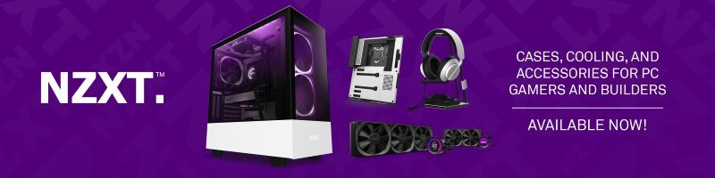NZXT Premium Computer Cases, Cooling & PC Accessories - Now Available