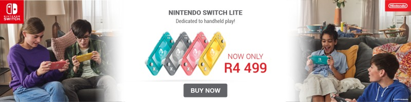 Nintendo Switch Lite Consoles on Promotion for 1-31 March 2021