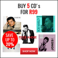 Buy 5 CD's for R99