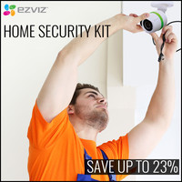 EZVIZ Home Security Kit's Save up to 23%