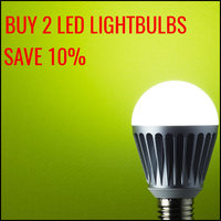 Buy 2 LED Lightbulbs and Save 10%