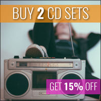 Buy 2 CD Sets & Get 15% Off