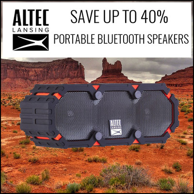 Altec Lansing Portable Audio Sale. Save up to 40%