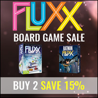 Buy 2 Fluxx Board Games And Save 15%