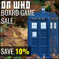 Dr Who Board Game Sale - Save 10%