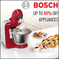 BOSCH - Up To 40% Off On Appliances