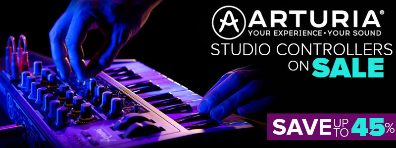 Arturia Synthesizers & Controllers on Sale - Save Up To 45%