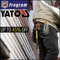 Up To 45% Off On Yato and Fragram Tools