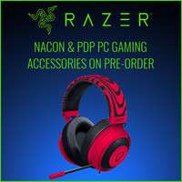 Razer, NACON & PDP PC Gaming Accessories on Pre-Order. Due March 2018