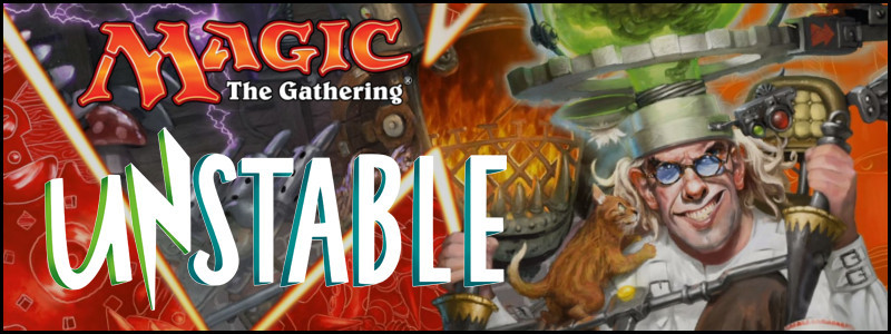 Magic the Gathering: Unstable Boosters Now Available