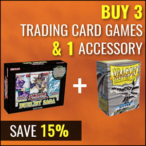 Buy 3 Trading Card Products and Accessories - Get 15% Off