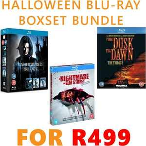 Halloween Blu-ray Bundle for R499