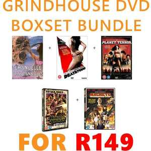 Grindhouse DVD Bundle R149