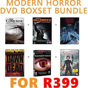 Ten Modern Horror DVD's for R399