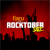 Rocktober is Here! Shop our Range of Musical Instruments, Merchandise, Books, CD's, DVD's and Vinyl!