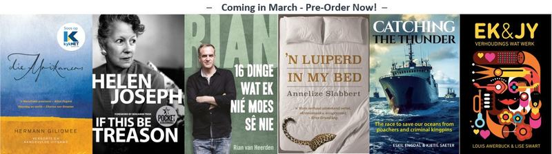 Featured South African March Pre-orders