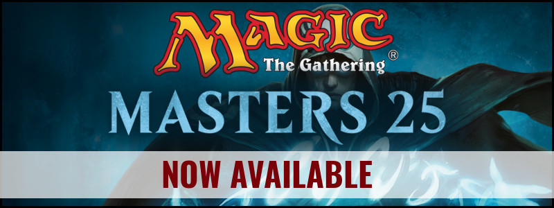 Magic The Gathering Masters 25 Boosters Now Available