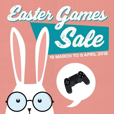 Easter 2018 Video Games Sale
