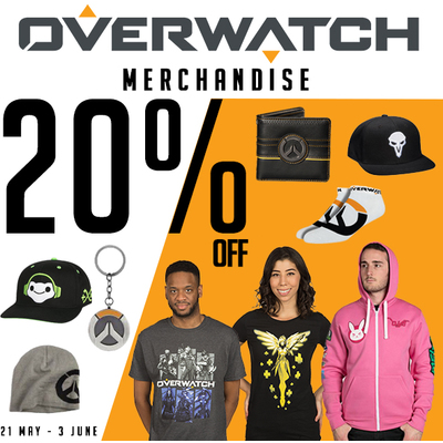 Overwatch Merch - 20% Off On T-Shirts, Hoodies & More