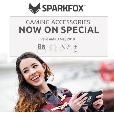 Sparkfox Gaming Accessories - Now on Special
