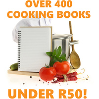 Over 400 Cookbook for less than R50