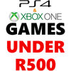 PS4 and Xbox One Games Under R500