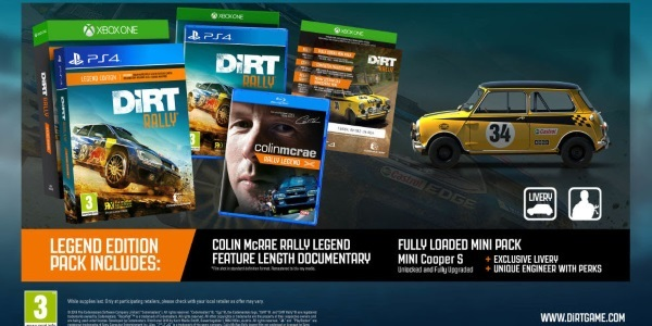 news new driving game releases dirt rally ps4 xbox one. Black Bedroom Furniture Sets. Home Design Ideas