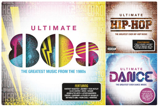 News - The Ultimate Compilation 4 CD Collection : 80's, Hip-Hop