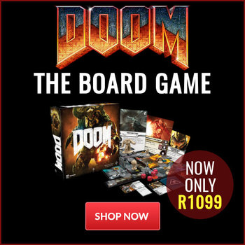 News - DOOM: The Board Game - Now Only R1099 | Raru