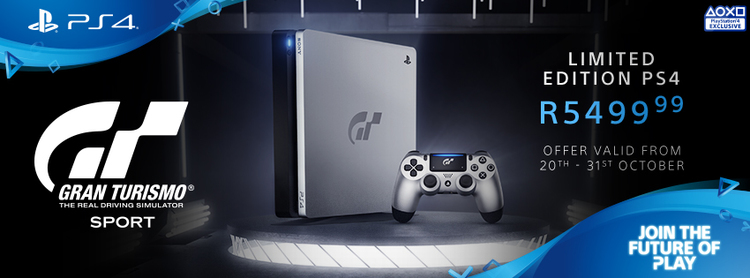limited edition gran turismo sport ps4 console releases autos post. Black Bedroom Furniture Sets. Home Design Ideas