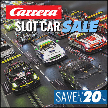 news carrera slot car racing sets on sale save up to. Black Bedroom Furniture Sets. Home Design Ideas