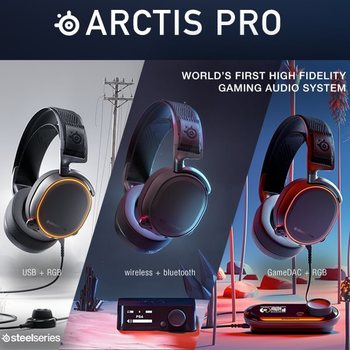 News - SteelSeries Arctis Pro Gaming Headsets for PC/PS4
