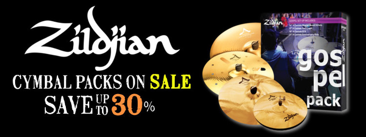 zildjian cymbal pack for sale