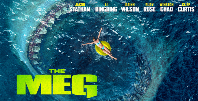 News - The Meg (DVD/Blu-ray/3D Blu-ray & 4K Ultra HD) Now In