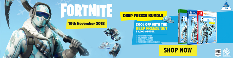 News Fortnite Deep Freeze Bundle Code Will Be Emailed Ps4 Xbox