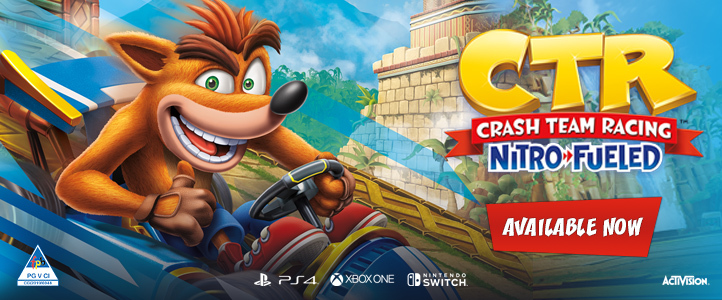 News - Crash Team Racing Nitro Fueled (PS4/Xbox One/Switch) Standard