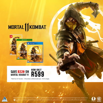 News - Mortal Kombat 11 (PS4/Xbox One/Switch) On Sale Now