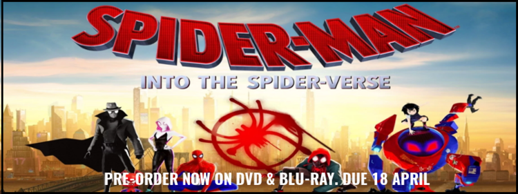 News - Spider-man: Into The Spider-Verse (Blu-ray & DVD) Now