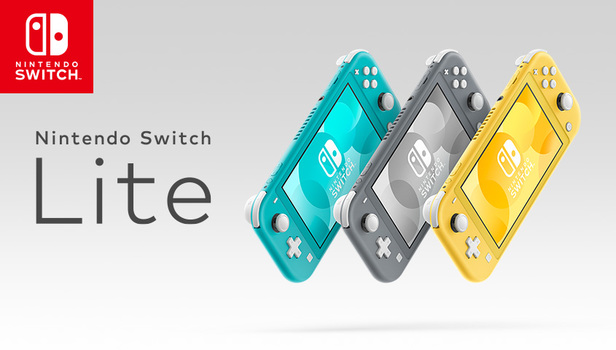 News - Nintendo Switch Lite Handheld Console Now on Pre