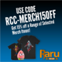 Use Coupon Code RCC-MERCH15OFF to Get 15% Off Selected Merch - Thumbnail