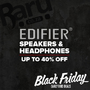 Black Friday Early Bird Deals - Edifier Speakers & Headphones, Save up to 40% - Thumbnail