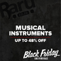Black Friday Early Bird Deals - Musical Instruments, Save up to 48% - Thumbnail