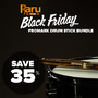Black Friday Bundle - Buy 4 Sets of Promark Drum Sticks and get 35% off! - Thumbnail