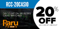 Get 20% off Selected Casio Watches - Use Coupon Code RCC-20CASIO at Checkout - Thumbnail