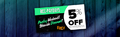 Raru PayDay Coupon - Get 5% Off with RCC-PAYDAY5 - Ends 27 June 2021 - T&Cs Apply - Thumbnail