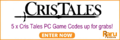 Cris Tales - 5 x PC Game Codes Up Grabs - Winners Update - Thumbnail